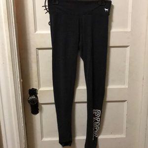 Pink leggings(dark gray)